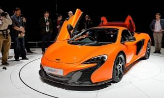 McLaren 650S, 650S Spider Debut in Geneva, Configurator Launched [Live Photos]