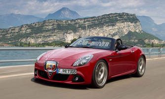 Alfa Romeo Spider May Instead Wear Fiat or Abarth Badge